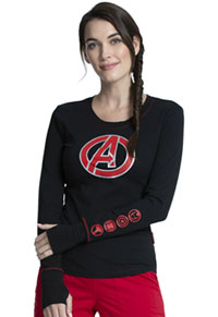 Tooniforms Underscrub Knit Tee Avengers Hero (TF718-MAGH)