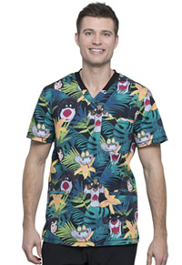 Tooniforms Men's V-Neck Top Bungle In The Jungle (TF725-JBUG)