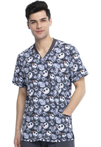 Tooniforms Men's V-Neck Top Boogie With Jack (TF725-NCOW)