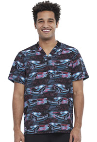 Tooniforms Men's V-Neck Top Fast And Furious (TF730-TFFF)