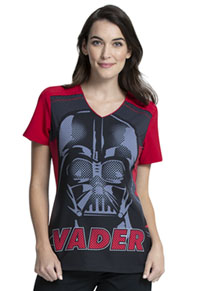 Tooniforms V-Neck Top Vader 77 (TF745-SRVA)