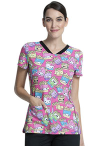 Tooniforms V-Neck Top Supercute Snack Pack (TF750-HSSP)