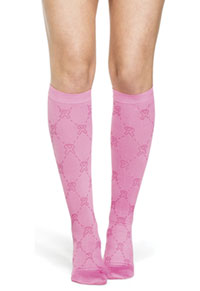 Therafirm 10-15 mmHg Support Trouser Sock Diamond Pink Ribbon (TF953-DPR)