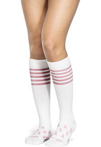 Therafirm 10-15Hg Light Support Sock Pink Ribbon (TFCS116-PRBN)