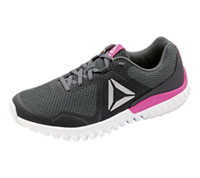 Reebok Athletic Footwear Alloy,AshGrey,Poison,Pink,Whit (TWISTFORMBLAZE-AGPW)
