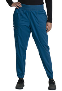 Cherokee Workwear Natural Rise Jogger Caribbean Blue (WW011-CAR)