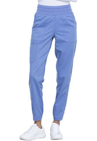 Cherokee Workwear Natural Rise Jogger Ciel Blue (WW011-CIE)