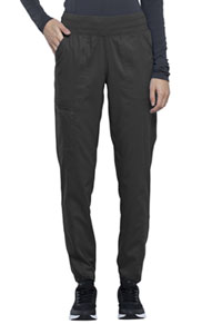 Cherokee Workwear Natural Rise Tapered Leg Jogger Pant Pewter (WW011-PWT)