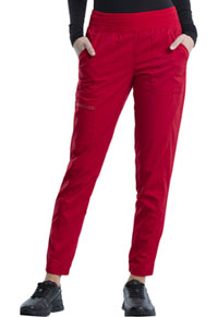Cherokee Workwear Natural Rise Jogger Red (WW011-RED)