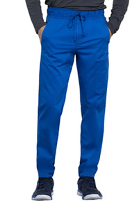 Cherokee Workwear Men's Natural Rise Straight Leg Jogger Royal (WW012-ROY)