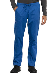 Cherokee Workwear Unisex Tapered Leg Drawstring Pant Royal (WW020-ROY)