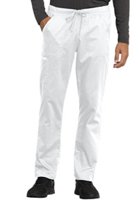 WW Revolution Unisex Tapered Leg Drawstring Pant (WW020-WHT) (WW020-WHT)
