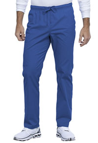 Cherokee Workwear Unisex Straight Leg Drawstring Pant Royal (WW030-ROY)