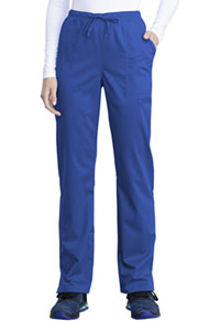 Cherokee Workwear Mid Rise Straight Leg Drawstring Pant Royal (WW041AB-ROY)