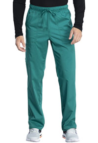 Cherokee Workwear Unisex Mid Rise Straight Leg Pant Hunter Green (WW042AB-HUN)