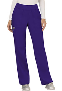 Mid Rise Straight Leg Pull-on Pant (WW110P-GRP)