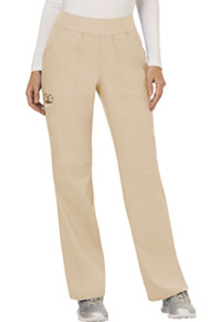 Mid Rise Straight Leg Pull-on Pant (WW110P-KAK)