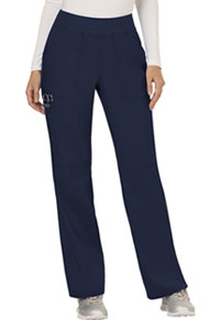 Mid Rise Straight Leg Pull-on Pant (WW110P-NAV)