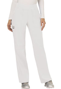 Mid Rise Straight Leg Pull-on Pant (WW110T-WHT)