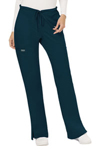 Mid Rise Moderate Flare Drawstring Pant (WW120P-CAR)