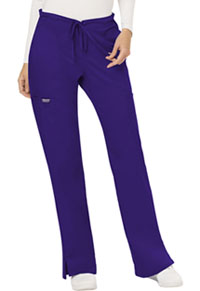 Mid Rise Moderate Flare Drawstring Pant (WW120P-GRP)