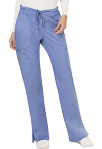 Mid Rise Moderate Flare Drawstring Pant (WW120T-CIE)