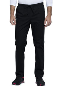Workwear WW Professionals Unisex Pocketless Drawstring Pant (WW125-BLK) (WW125-BLK)
