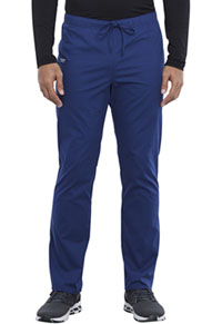 Cherokee Workwear Unisex Pocketless Drawstring Pant Navy (WW125-NAV)