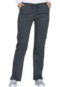 Mid Rise Straight Leg Drawstring Pant (WW130P-PWTW)