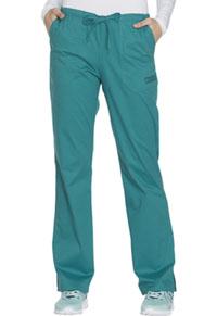 Mid Rise Straight Leg Drawstring Pant (WW130P-TLBW)