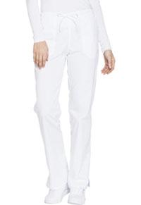 Mid Rise Straight Leg Drawstring Pant (WW130P-WHTW)