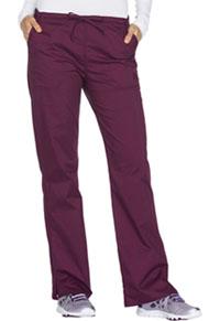 Mid Rise Straight Leg Drawstring Pant (WW130P-WINW)
