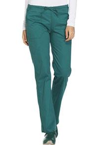 Mid Rise Straight Leg Drawstring Pant (WW130T-HUNW)