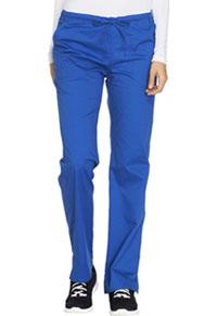 Mid Rise Straight Leg Drawstring Pant (WW130T-ROYW)