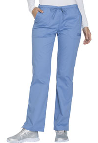 WW Core Stretch Mid Rise Straight Leg Drawstring Pant (WW130-CIEW) (WW130-CIEW)