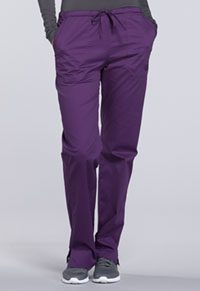 WW Core Stretch Mid Rise Straight Leg Drawstring Pant (WW130-EGGW) (WW130-EGGW)