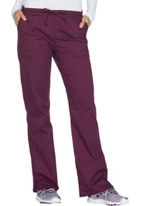 WW Core Stretch Mid Rise Straight Leg Drawstring Pant (WW130-WINW) (WW130-WINW)