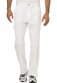 Men's Fly Front Pant (WW140S-WHT)