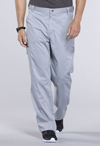 Men's Fly Front Pant (WW140T-GRY)