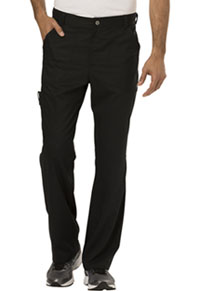 Cherokee Workwear Men's Fly Front Pant Black (WW140-BLK)