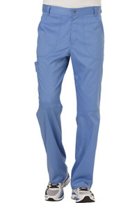 Cherokee Workwear Men's Fly Front Pant Ciel Blue (WW140-CIE)