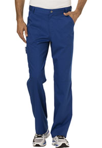 Cherokee Workwear Men's Fly Front Pant Galaxy Blue (WW140-GAB)