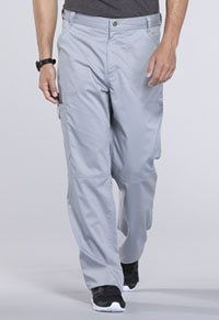Cherokee Workwear Men's Fly Front Pant Grey (WW140-GRY)