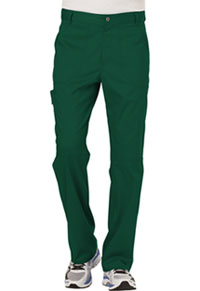 Cherokee Workwear Men's Fly Front Pant Hunter Green (WW140-HUN)