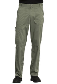 Cherokee Workwear Men's Fly Front Pant Olive (WW140-OLV)