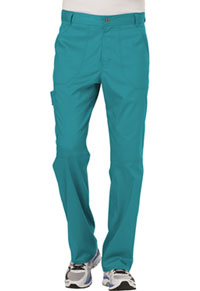 Cherokee Workwear Men's Fly Front Pant Teal Blue (WW140-TLB)