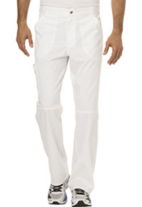 Cherokee Workwear Men's Fly Front Pant White (WW140-WHT)