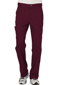 Cherokee Workwear Men's Fly Front Pant Wine (WW140-WIN)