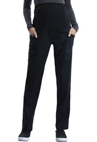 Cherokee Workwear Maternity Straight Leg Pant Black (WW155-BLK)