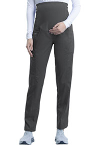 Cherokee Workwear Maternity Straight Leg Pant Pewter (WW155-PWT)